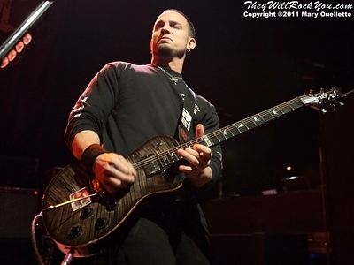 Alter Bridge perform at The Palladium in Worcester, MA on May 17, 2011