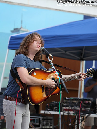 Ben Kweller performs on August 20, 2011 at The Ben & Jerry's Fair Trade Music Festival in Boston, Massachusetts