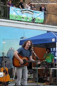 Ben Kweller performs on August 20, 2011 at The Ben & Jerry's Fair Trade Music Festival in Boston, Massachusetts