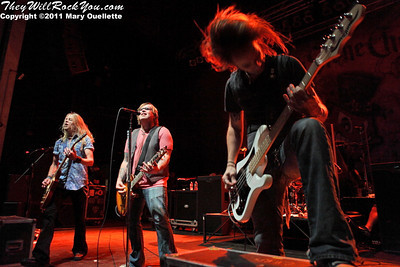 Black Stone Cherry perform at The Palladium in Worcester, MA