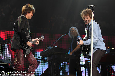 "Bon Jovi bring ""The Circle Tour"" to  Mohegan Sun Arena on March 4, 2011 in Uncasville, Connecticut"