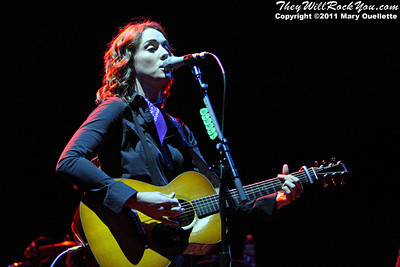 Brandi Carlile performs on June 1, 2011 at the Bank of America Pavilion in Boston, MA