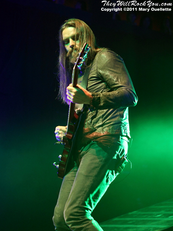 Bush at the House of Blues in Boston, MA on October 13, 2011