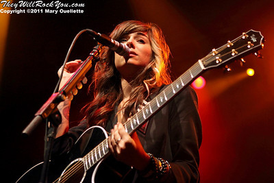 "Christina Perri peforms on April 20, 2011 at the House of Blues in Massachusetts.  Her debut album ""lovestrong"" drops on May 10th."