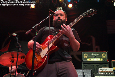 Clutch performs at the House of Blues in Boston, MA on March 1, 2011