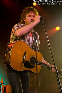 Dierks Bentley performs on March 25, 2011 during the The Jagermeister Country Tour 2011 in Poughkeepsie, NY