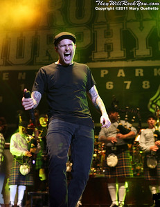 Al Barr of Dropkick Murphys performs on September 8, 2011 at Fenway Park in Boston, Massachusetts