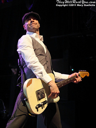 Dennis Casey of Flogging Molly performs during their 7th Annual Green 17 Tour on February 27, 2011 at the House of Blues in Boston, Massachusetts