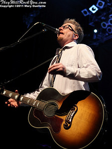 Dave King of Flogging Molly performs during their 7th Annual Green 17 Tour on February 27, 2011 at the House of Blues in Boston, Massachusetts