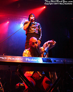 Foxy Shazam play at the House of Blues in Boston, MA on May 22, 2011