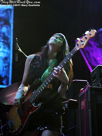 Grace Potter and the Nocturnals perform at the House of Blues in Boston on March 25, 2011