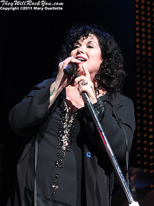 Ann Wilson of Heart performs on June 30, 2011 at the Comcast Center in Mansfield, Massachusetts.