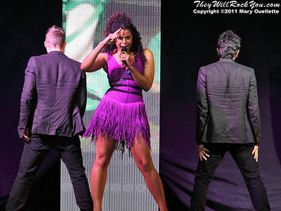 Jordin Sparks performs at the Mohegan Sun Arena in Uncasville, CT on June 2, 2011