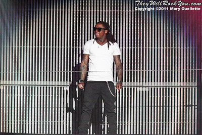 """Lil Wayne returns to the stage with his """"I'm Still Music"""" tour on March 16, 2011 at the Dunkin' Donuts Center in Providence, Rhode Island"""