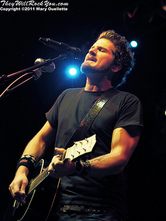 "Matt Nathanson performs on October 8, 2011 in support of ""Modern Love"" at the House of Blues in Boston, Massachusetts"