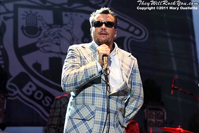 Mighty Mighty Bosstones perform on September 8, 2011 to kick off the Shamrock-N-Roll Festival at Fenway Park in Boston, Massachusetts