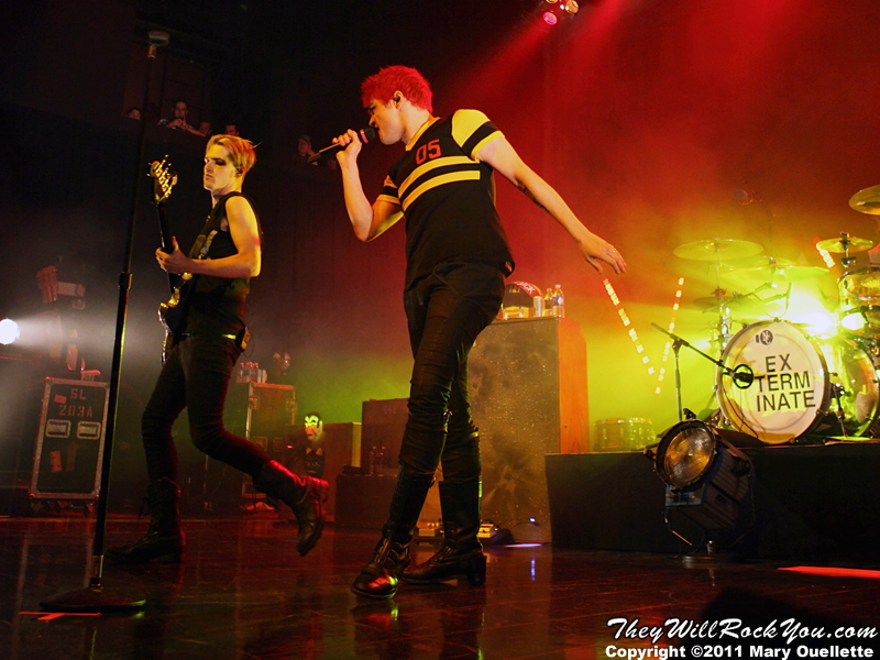 My Chemical Romance perform at the House of Blues in Boston on May 5, 2011