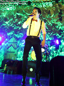 """Brendon Urie Panic at the Disco kicks off their tour in support of """"Vices & Virtues"""" on May 22, 2011 at the House of Blues in Boston, MA"""