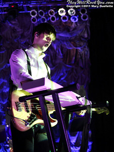"""Panic at the Disco kicks off their tour in support of """"Vices & Virtues"""" on May 22, 2011 at the House of Blues in Boston, MA"""