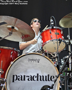 Parachute perform at the Bank of America Pavilion in Boston, MA on July 19, 2011