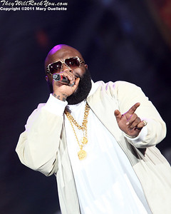 Rick Ross performs on March 16, 2011 at the Dunkin' Donuts Center in Providence, Rhode Island