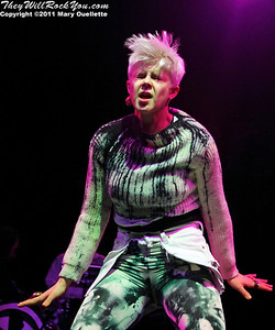 "Robyn performs on February 4, 2011 in support of ""Body Talk"" at the House of Blues in Boston, Massachusetts"