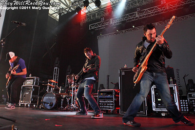 SafetySuit perform at the Bank of America Pavilion in Boston, MA on June 8, 2011