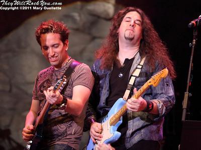 Scrap Metal Perform at Mohegan Sun Arena on August 5, 2011