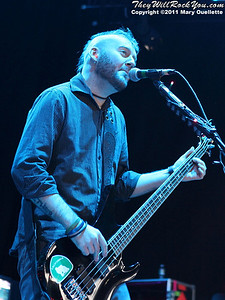 Seether perform on August 30, 2011 on the Rockstar Energy Drink UPROAR Festival at the Comcast Center in Mansfield, Massachusetts