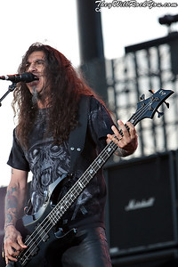 Slayer live at the Big 4 Festival in Indio, California on April 23, 2011
