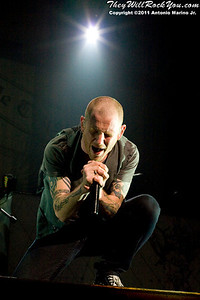 Stone Sour. Avalanche Tour Mohegan Sun Arena May 1, 2011