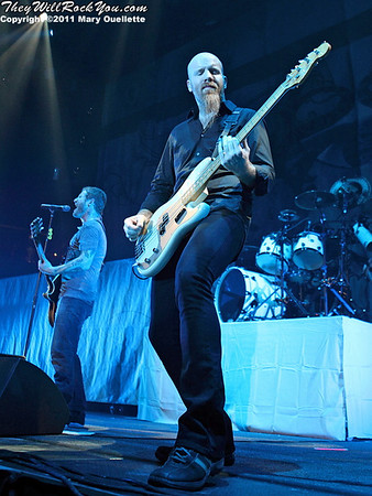 "Stone Sour perform in support of ""Audio Secrecy"" on January 22, 2011 at the Tsongas Center in Lowell, Massachusetts"