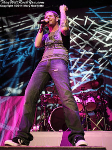 """Stone Sour perform in support of """"Audio Secrecy"""" on January 22, 2011 at the Tsongas Center in Lowell, Massachusetts"""