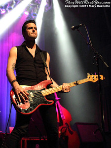 """The Airborne Toxic Event peform in support of """"All At Once"""" on May 11, 2011 at the House of Blues in Boston, Massachusetts"""