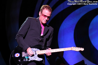 Keith Strickland of The B-52s performs on June 9, 2011 at the Bank of America Pavilion in Boston, Massachusetts