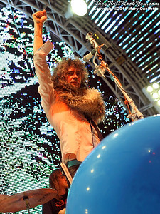 The Flaming Lips perform at the BOA Pavilion in Boston, MA on July 27, 2011