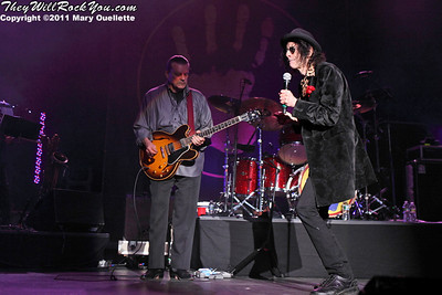 The J. Geils Band perform on August 6, 2011 at the Bank of America Pavilion in Boston, Massachusetts