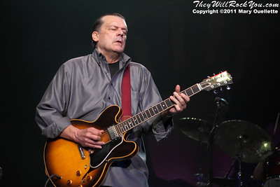 John Geils of The J. Geils Band perform on August 6, 2011 at the Bank of America Pavilion in Boston, Massachusetts