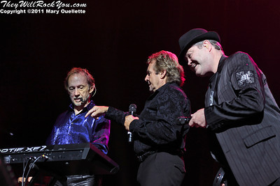 The Monkees perform during their 45th Anniversary Tour on June 10th at the Mohegan Sun Arena in Uncasville, CT