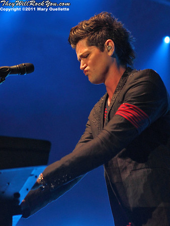 The Script perform at the Bank of America Pavilion in Boston, Massachusetts on June 8, 2011