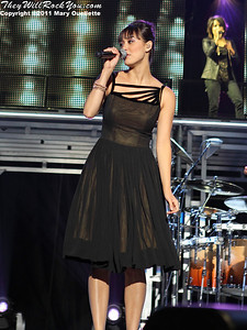 """""""The Voice"""" Live Top Eight perform at the Bank of America Pavilion in Boston, MA on August 4, 2011"""