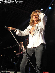 Whitesnake performs at the Casino Ballroom in Hampton Beach, NH on August 21, 2011