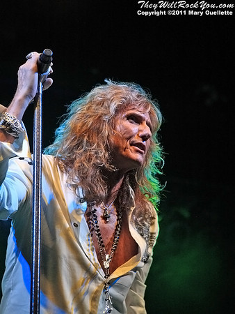 Whitesnake perform at the Webster Theaterin Hartford, CT on May 12, 2011.
