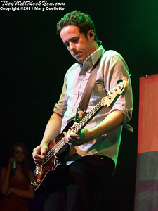 Yellowcard perform at the House of Blues in Boston, MA on May 6, 2011