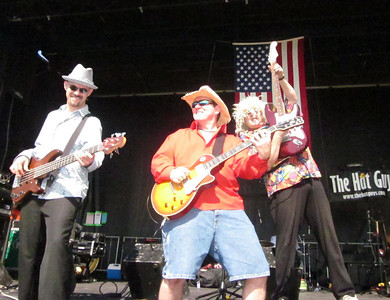 """See The Hat Guys LIVE!!  Check our Gigs Page at www.thehatguys.com and/or """"Like"""" us on Facebook at http://www.facebook.com/pages/The-Hat-Guys/255203354311."""