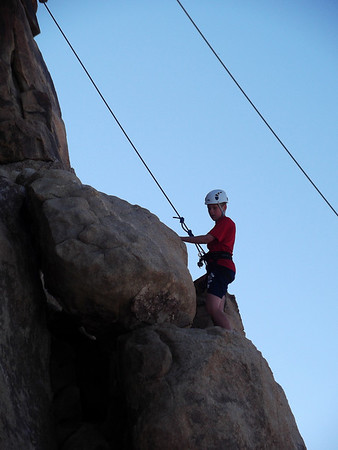 3/26/2011 - Joshua Tree Rock Climb Campout (Part I)