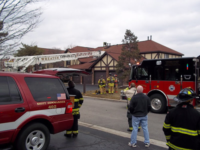 Wheaton General Alarm Fire 1445 Johnstown Ln. 3-13-2011
