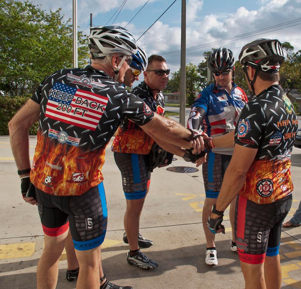 Dedication to the Brotherhood - Never Forget Tom, Scott, Todd, John, & Paul Pembroke Park, Florida © 2013