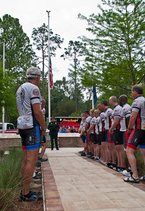 Pre-Ride Ceremony 2013 Brotherhood Ride Brooksville, Florida © 2013