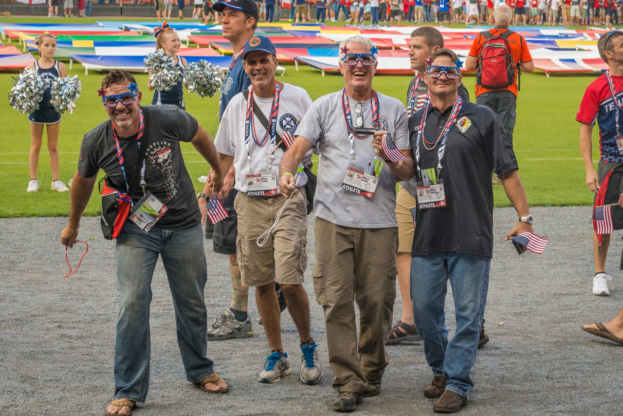 2015 World Police & Fire Games Opening Ceremony Fairfax, Virginia © 2015  TNWA Photography / Debbie Tubridy